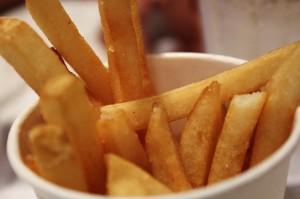 A vous les succulentes frites sans matière grasse!