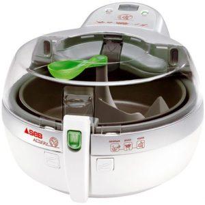 La friteuse sans huile Actifry vous permet de suivre la cuisson de vos frites grâces à son couvercle transparent