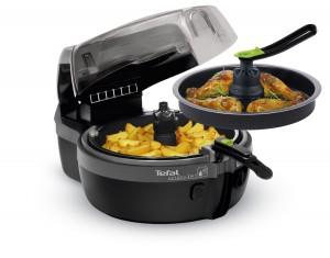 Le plateau gril de l'Actifry 2 en 1 vous permet de préparer 2 types d'aliments en une seule fois