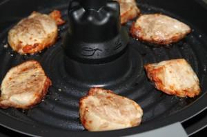 Préparer aussi de la viande avec la friteuse Actifry 2 en 1