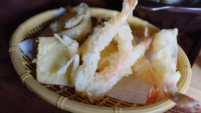 Tempura aux crevettes, simplement excellent