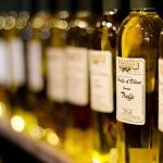Bouteilles d'huile d'olive